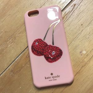 Kate Spade iPhone 6 Cherry case